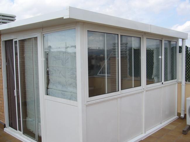 Aluminios rubigal cerramientos for Cerramiento aluminio terraza